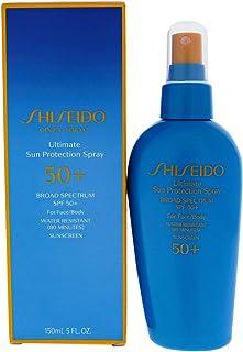Shiseido Ultimate Sun Protection Spray Spf 50 Sunscreen By for Unisex - 5 Oz Sunscreen, 5 Oz