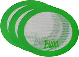Silicone Alley, 3 Non-stick Mat Pad/Silicone Rolling Baking Pastry Mat Large Round 9.5