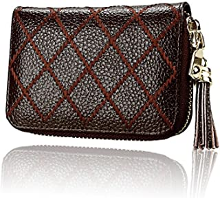Purse Ladies Wallet Women Carton Pack Tassels Wallet Purse Wallet Portmonaise Wallet (Color : Coffee, Size : One Size)