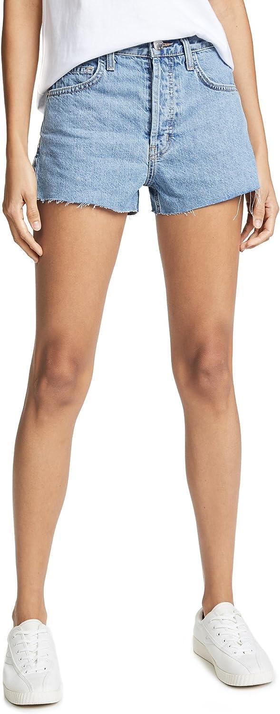 Current Elliott Womens HighWaist CutOff Denim Shorts