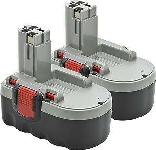 2 x ExpertPower 18v 3000mAh NiMh Battery for Bosch BAT025 BAT026 BAT160 BAT180 BAT181 3453-01 35618 3860K 52318B GDR 18 V GDS 18 V