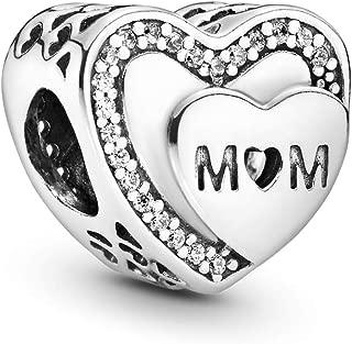 Pandora Women Silver Bead Charm - 792070CZ