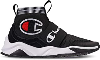 Champion Boy's Rally Pro Big C Knit Sock Top Sneaker