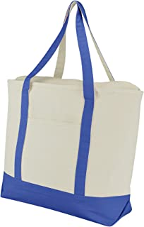 Best royal blue canvas tote bags Reviews