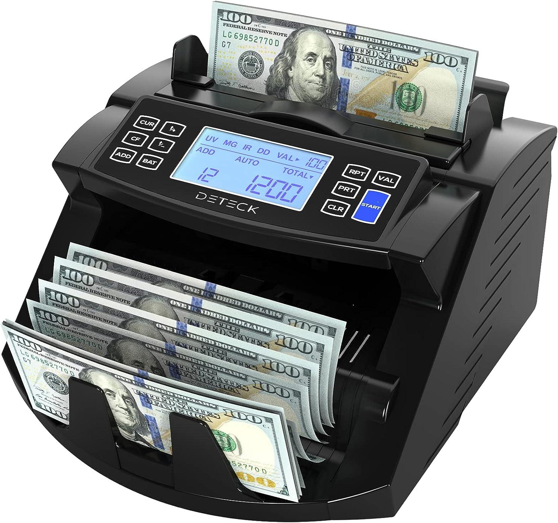 DETECK Popular brand Hawk Money Counter Machine Commercial Cash DT200 Co Grade List price