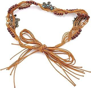 Fascigirl Lady Waist Belt National Style Tassels Decor Waist Chain Sweater Chain