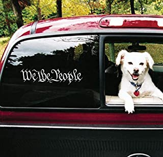 Bluegrass Decals We The People Decal Sticker A1166