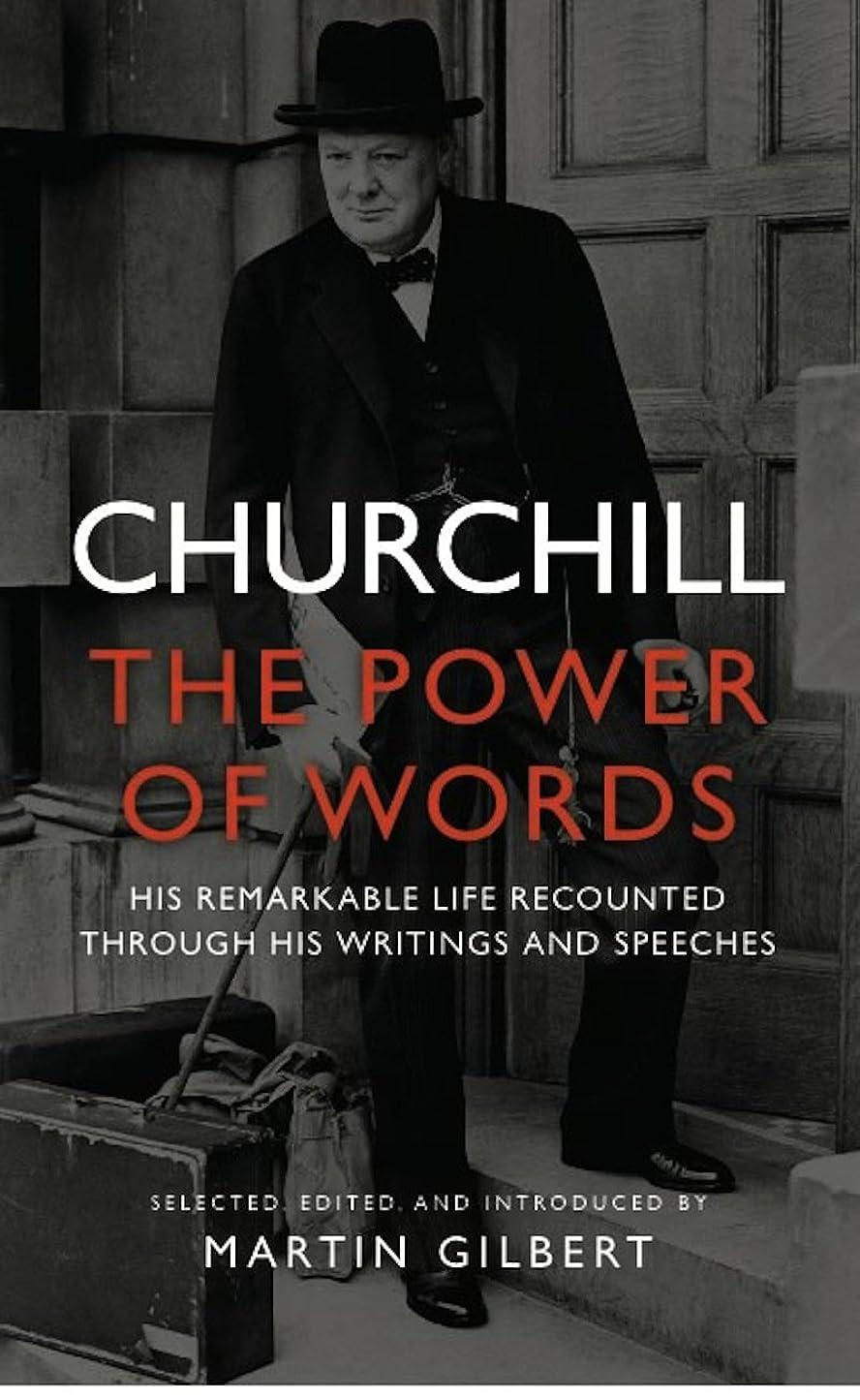 困難形容詞褐色Churchill: The Power of Words (English Edition)