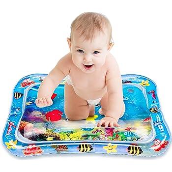 3 Monate Neugeborene Aktivit/ätsmatte f/ür Kleinkinder Joyjoz Wassermatte Baby Wasserspielmatte Tummy Time Aufblasbar Baby Matte Sensorisches Spielzeug