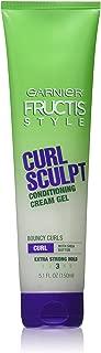 Fructis Style Curl Sculpting Conditioning Cream Gel by Garnier for Unisex - 5.1 oz Gel