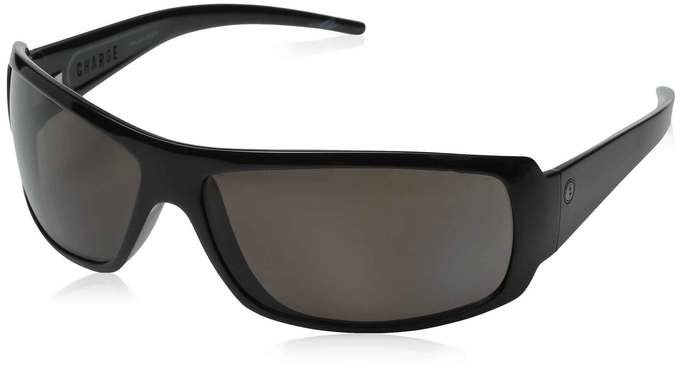 Electric Charge Gloss Black Sunglasses