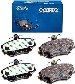 Conjunto Pastilhas de Freio Renault Clio/Logan/Megane/Sandero/Symbol Cobreq - N-448