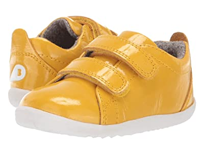 Bobux Kids Step Up Grass Court Waterproof (Infant/Toddler) (Yellow) Kid