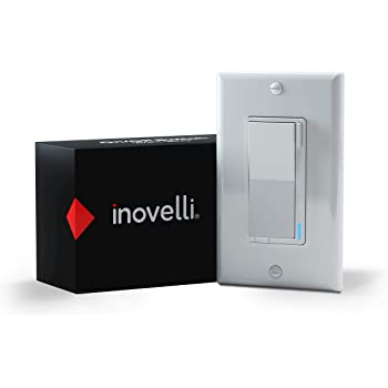 Inovelli Z-Wave Switch | ZWave Light Switch Works with SmartThings | Repeater, 3-Way Smart Switch Technology, Signal Indicator | Z-Wave Plus w/S2 SmartStart