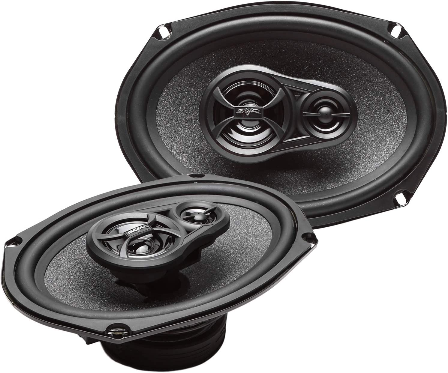 Animer and price revision Skar Luxury Audio RPX69 6-Inch x 9-Inch 3-Way Speakers Pair Coaxial -