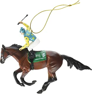 breyer american pharoah christmas ornament