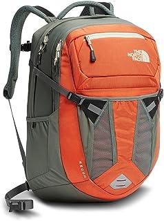 The North Face Women's Recon Backpack, Nasturtium Orange/Sedona Sage Grey, One Size