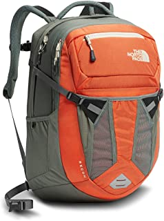 The North Face Women's Recon Backpack - Nasturtium Orange/Sedona Sage Grey - OS