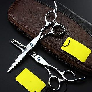 Barber Scissors, Luxury Hair Scissors Professional Barber, Professional Hairdressing Scissors Hair Scissors Set,Silver