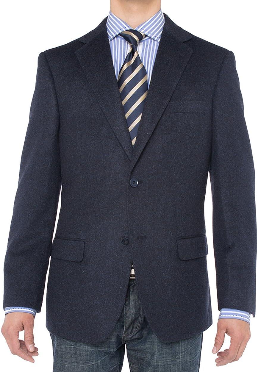 Luciano Natazzi Men's 2 Button Luxe Camel Hair Suit Jacket Sport Coat Blazer