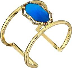 Gold/Crystal/Blue Catseye
