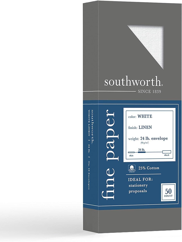 online shop Southworth 25% Cotton #10 Envelopes 4.125