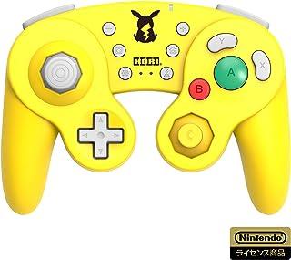 【任天堂ライセンス商品】ホリ ワイヤレスクラシックコントローラー for Nintendo Switch ピカチュウ【Nintendo Switch対応】