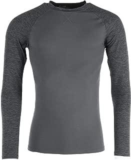 Men's 4-Way Stretch Crew Neck Long Sleeve T-Shirt with X-Temp & FreshIQ Technology