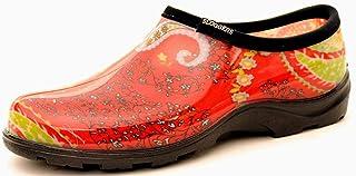 Sloggers 5104RD10 Size 10 Paisley Red Women's Waterproof Rain & Garden Shoe