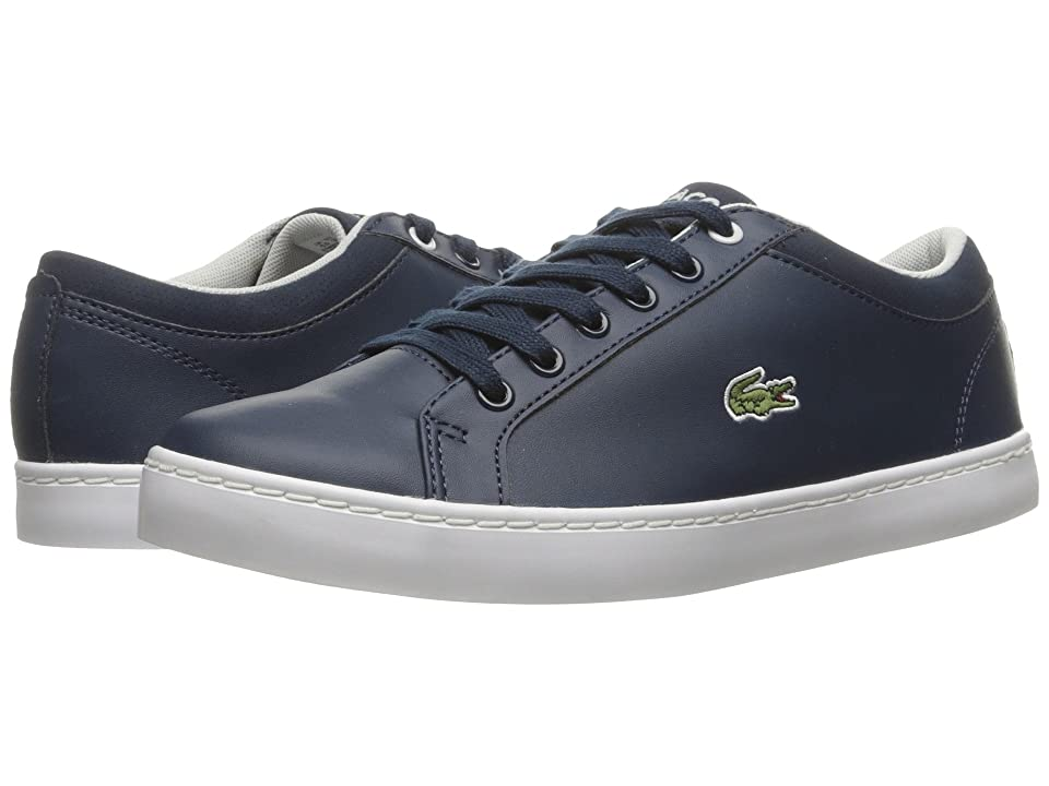 Lacoste Kids Straightset (Little Kid/Big Kid) (Navy) Kid