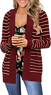 Best thick striped cardigan Reviews