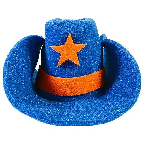 Funny Party Hats Huge Cowboy Hat - Funny Cowboy Hat – Costume Cowboy Hat –  Oversize 45c158bcc77