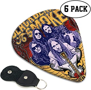 BlackBerry Smoke Posters Featured Unique Medium Hard Guitar Picks 6 Pieces For Electric Guitars,Acoustic Guitars, Mandolin And Bass