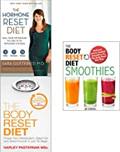 Hormone reset diet, body reset diet and smoothies 3 books collection set