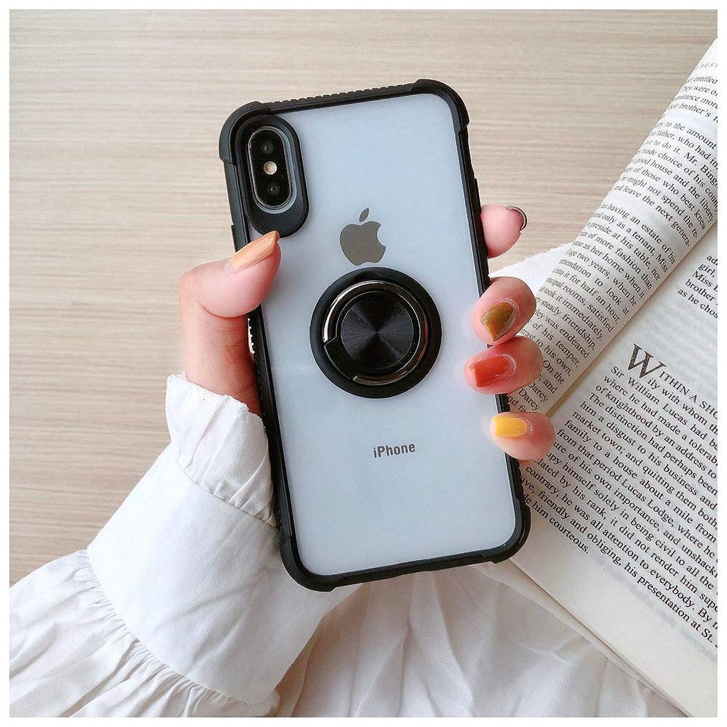 無知おかしいラビリンスiPhone ケース レディース メンズ 携帯ケース 透明 リングスタンド付き 携帯スタンド iPhone7/8/7Plus/8Plus,iPhone X/XR,iPhoneXS/XS MAX (iPhone XR ケース)