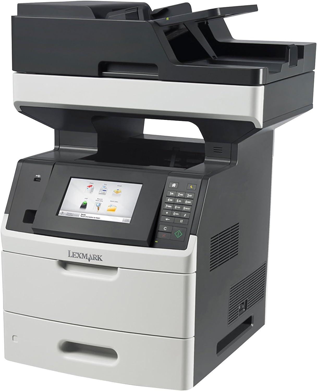 Lexmark MX710DE Monochrome Printer with Scanner, Copier and Fax - 24T7401,Gray/white