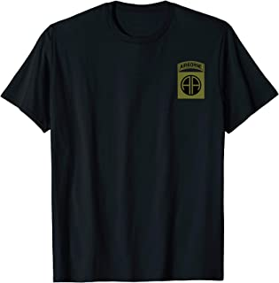 US Army 82nd Airborne Division Military Morale T-Shirt