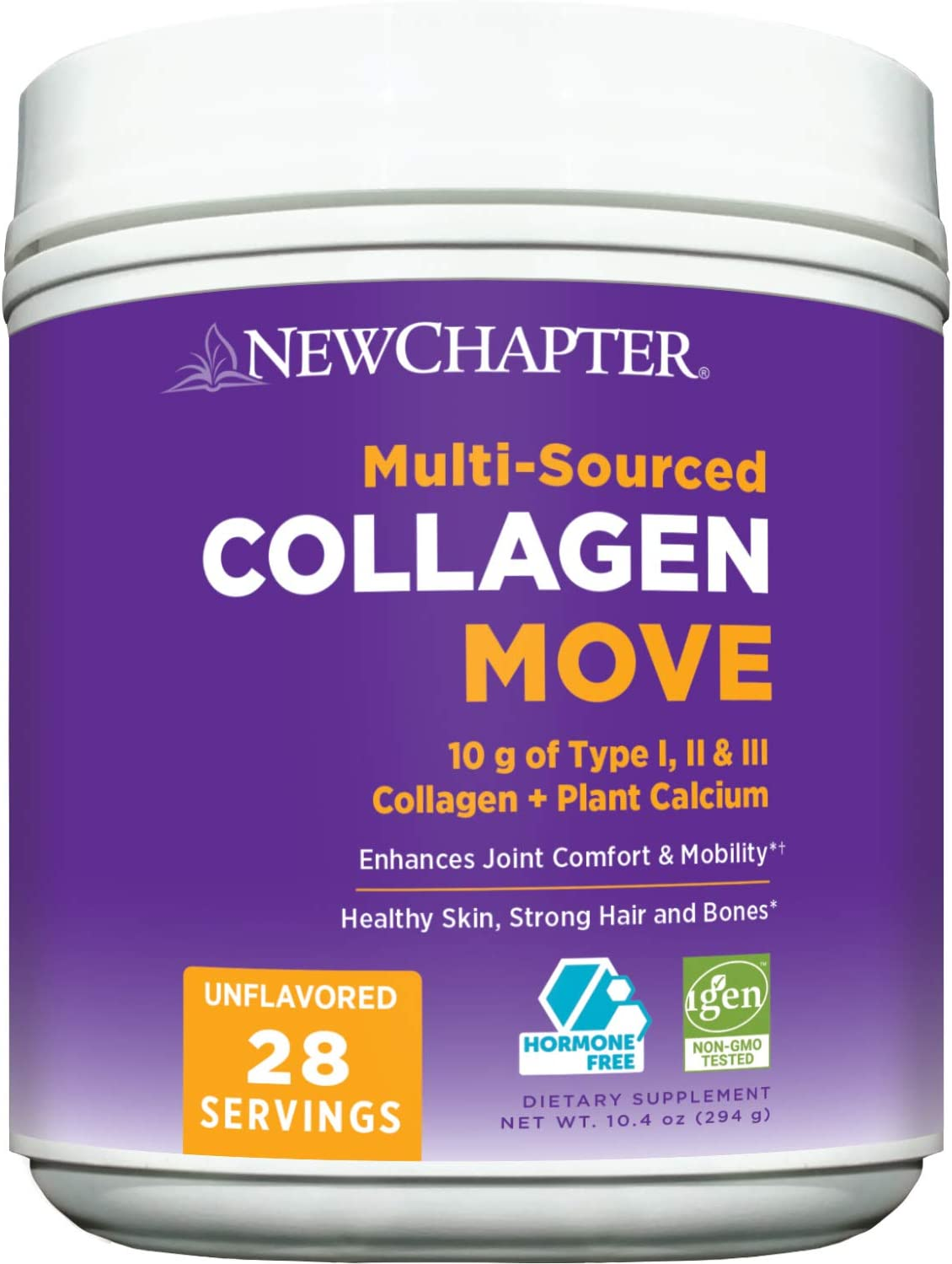 New Chapter Collagen Powder Move Courier 5% OFF shipping free I Types 10g Peptides