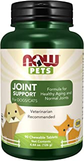 NOW Foods Animales Domesticos. Joint Support 90 Unidades 180 g