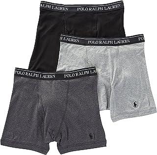 Polo Ralph Lauren Men's Classic Fit w/Wicking 3-Pack Boxer Briefs