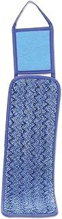 "Rubbermaid Commercial HYGEN HYGEN Microfiber Wet Pad with Scrubber,PAD,18"",WET, MICROFIBR,BE"