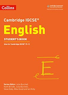 Cambridge IGCSE™ English Student's Book