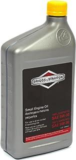 روغن موتور موتور کوچک مصنوعی Briggs & Stratton SAE 5W-30 - 32 Oz. 100074