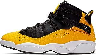 Nike - Jordan 6 Rings - 322992700 - Color: White-Yellow-Black - Size: 12.0