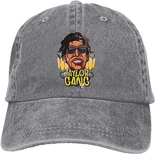 Monroe Lyndon Cowboy Baseball Cap Rapper KHA-LIFA Adjustable Classic Washed Hat Black