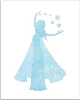 Summit Designs Elsa Disney Princess Inspirational Quote - Photo Print (8x10) Poster - Frozen Movie