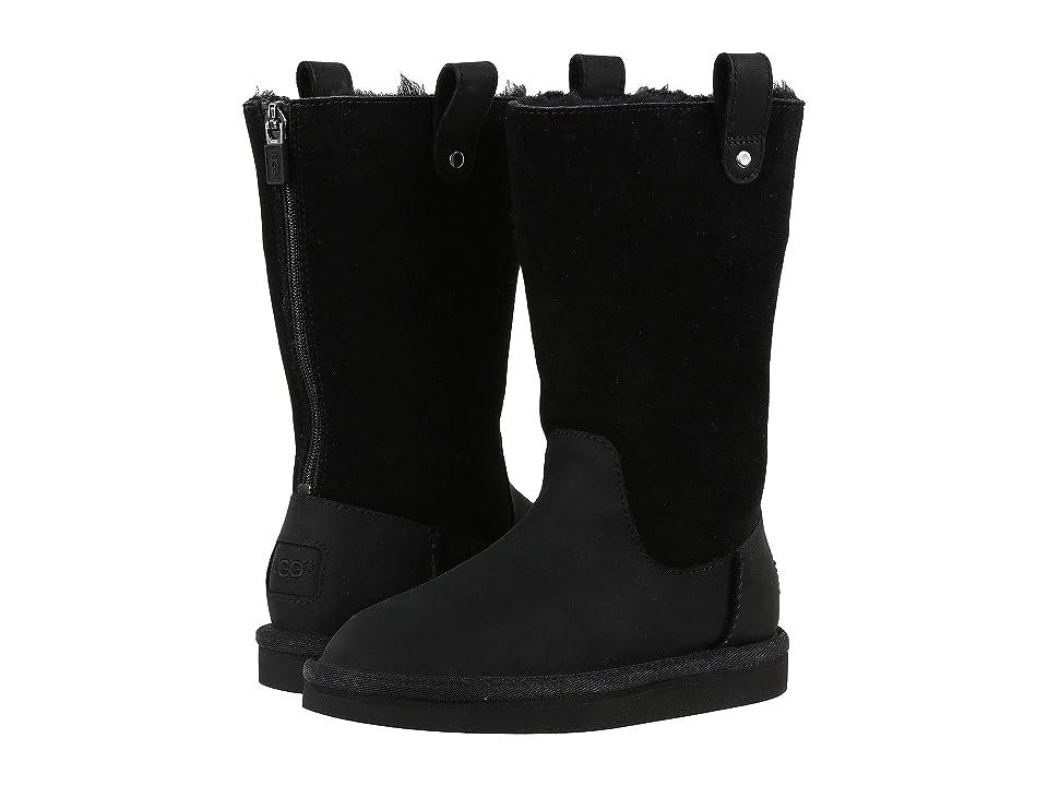 UGG Kids Jesslyn (Little Kid/Big Kid) (Black) Girls Shoes