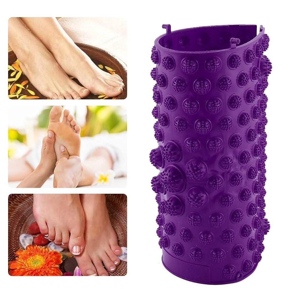 装備するコレクション固めるAcupressure Foot Mats Running Man Game Same Type Foot Reflexology Walking Massage Mat for Pain Relief Stress Relief 37x27.5cm