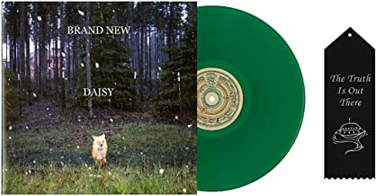 Brand New Limited Edition Daisy Green Vinyl with Ribbon Bundle