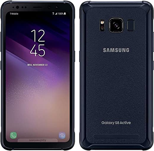 Samsung Galaxy S8 Active, 64GB, Meteor Gray - For T-Mobile (Renewed)